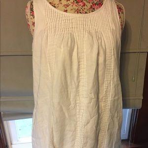 Gap brand woman's sz 10 white dress